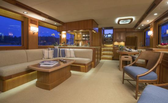 Fleming Yachts 78 alternative layout