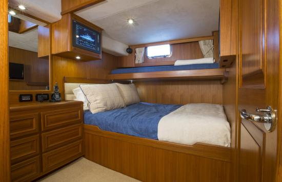 Fleming Yachts 78 crew cabin