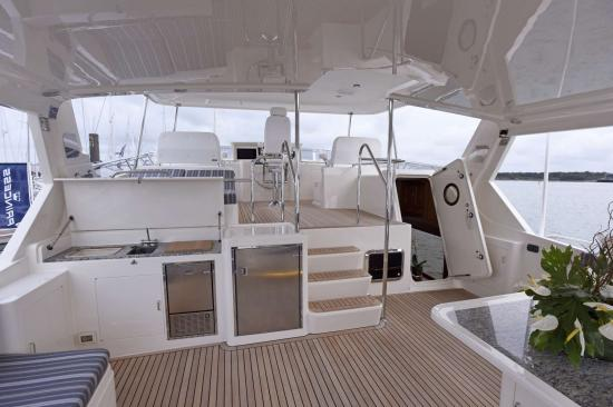 Fleming Yachts 78 deck