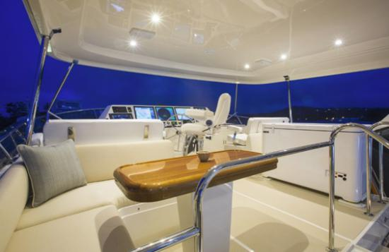 Fleming Yachts 78 fly bridge