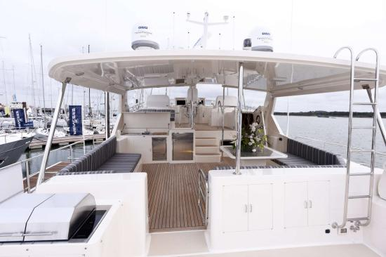 Fleming Yachts 78 hard top