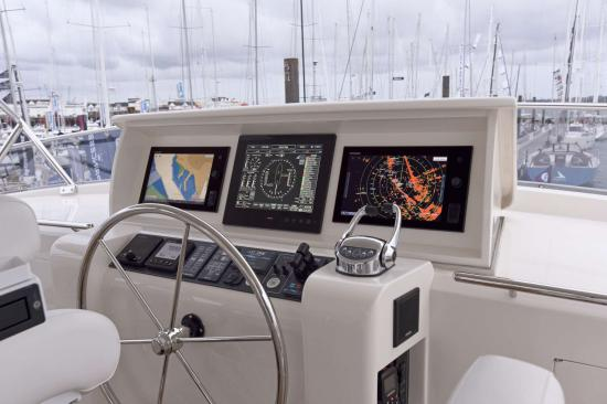 Fleming Yachts 78 helm