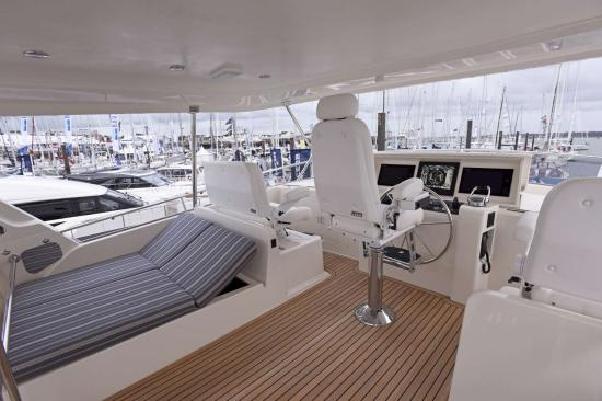 Fleming Yachts 78 helm seats