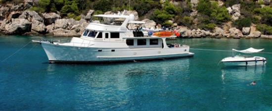Fleming Yachts 78 profile