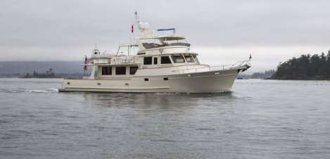 Fleming Yachts 78 running