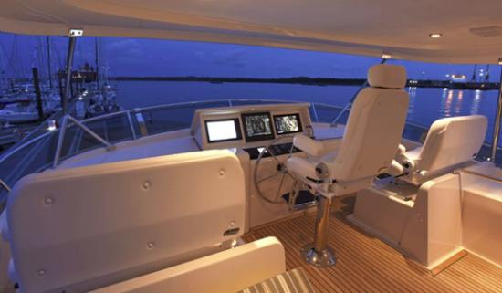 Fleming Yachts 78 seating