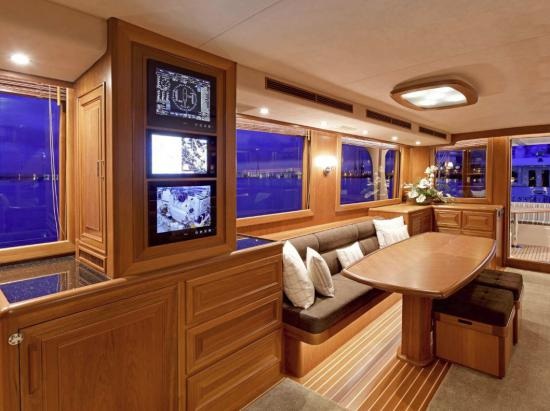 Fleming Yachts 78 systems monitoring