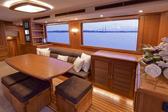 Fleming Yachts 78 windows