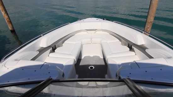 Formula 270 BR Bow Seating