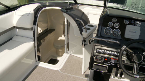 Formula 310 Bowrider head compartment