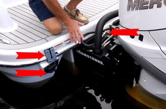 Formula 350 CBR OB outboard engines
