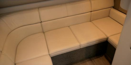 Formula 37 Performance Cruiser aft lounge