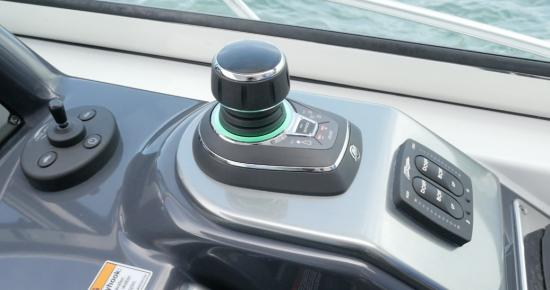 Formula 37 Performance Cruiser joy stick