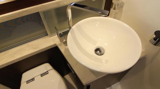 Galeon 420 Fly vessel sink