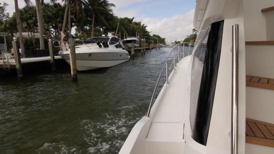 Galeon 420 Fly side decks