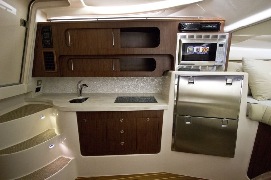 Grady-White Express 370 galley
