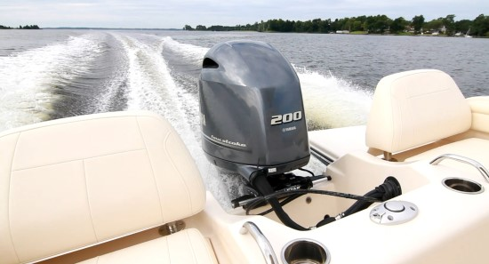 Grady-White Fisherman 216 outboard