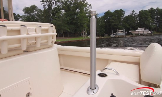 Grady-White Fisherman 216 tow pylon