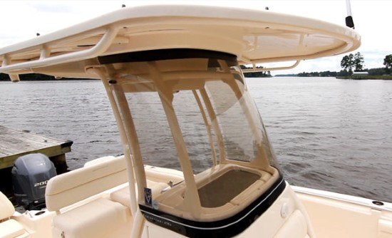 Grady-White Fisherman 216 wind shield