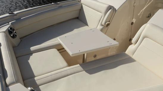 Grady-White Freedom 325 bow table