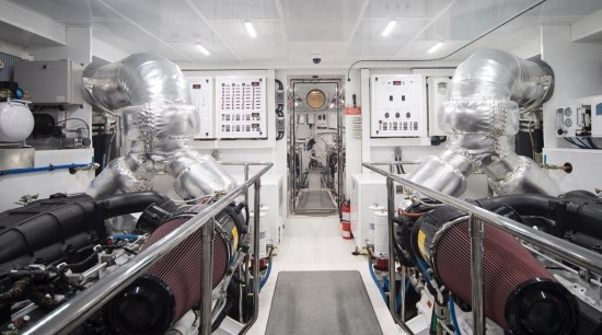 Hargrave 95 engine room