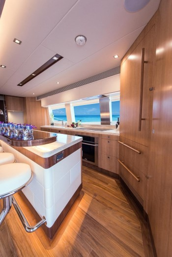 Horizon PC74 Galley Storage