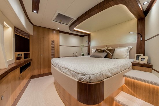 Horizon PC74 VIP Staterooms