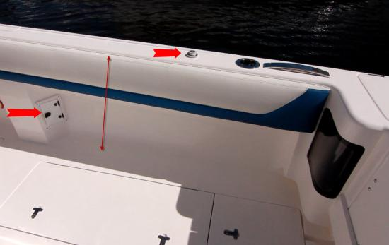 Intrepid 407 Panacea freshwater flush