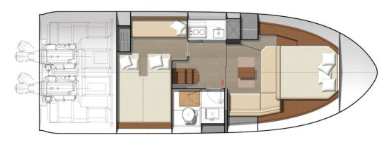 Jeanneau Leader 36 layout