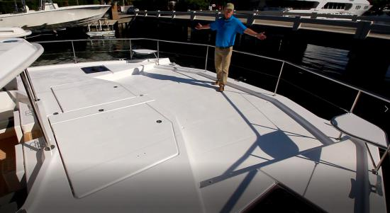 Leopard 51 PC foredeck