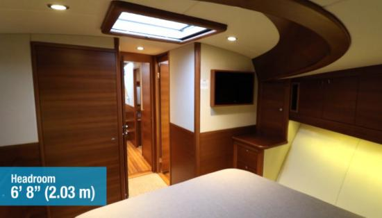Palm Beach 55 master stateroom