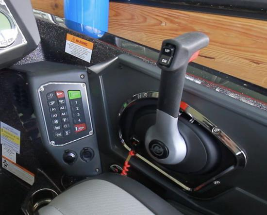 Ranger Z519L accessory switches