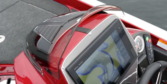 Ranger Boats Z520C wind screen