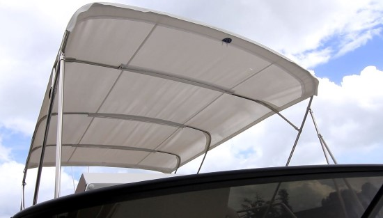 Regal 42 Fly bimini top