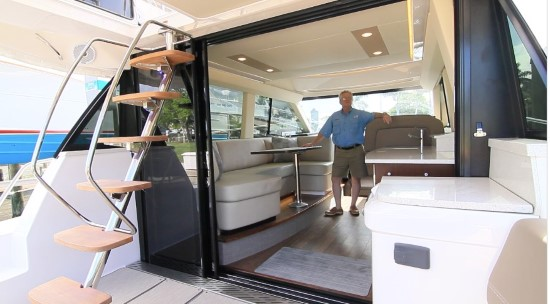Regal 42 Fly sliding doors