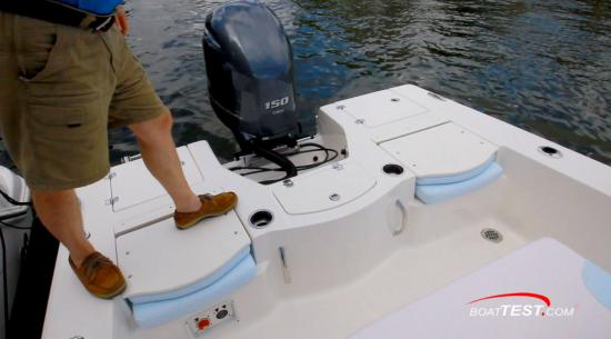 Robalo 206 Cayman S aft casting