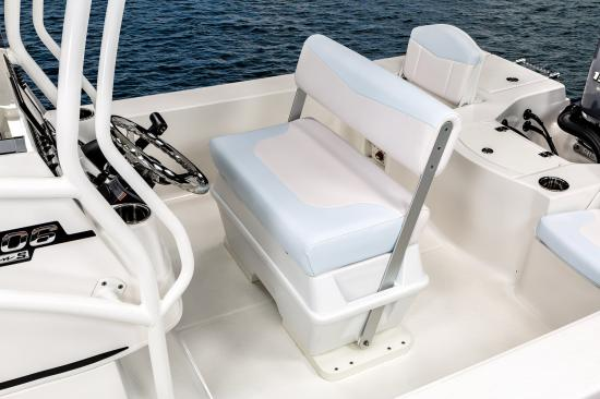 Robalo 206 Cayman S helm seat