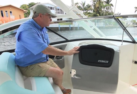 Robalo R317 accommodations