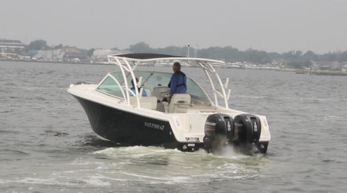Sailfish 275DC tested boat
