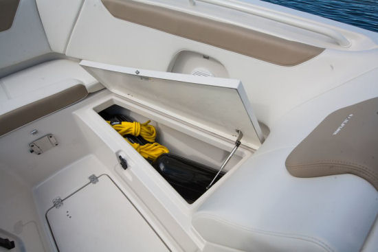 Sailfish 275DC storage locker