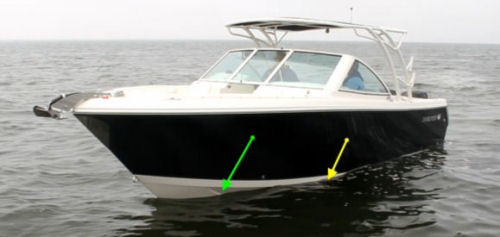 Sailfish 275DC vds hull