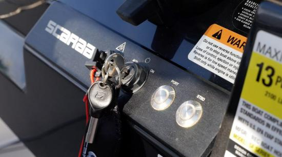 Scarab 255 Open ID ignition