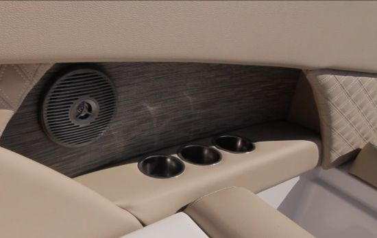 Scarab 255 Platinum SE cup holders