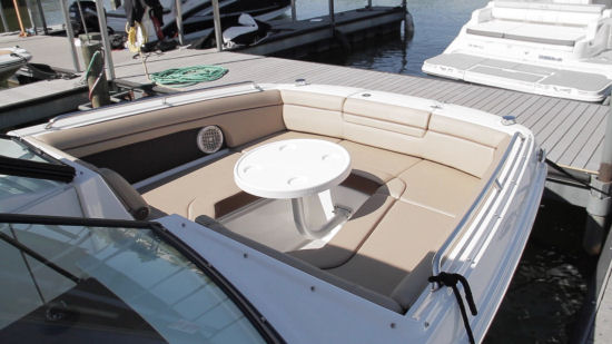 Sea Ray 270 Sundeck bow table