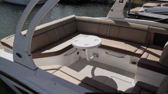 Sea Ray 270 Sundeck table