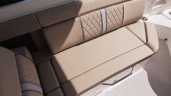 Sea Ray 270 Sundeck seating