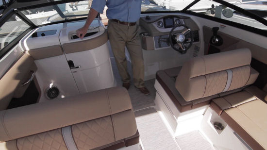 Sea Ray 270 Sundeck seats