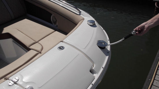Sea Ray 270 Sundeck shower