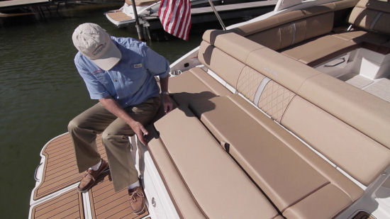 Sea Ray 270 Sundeck support