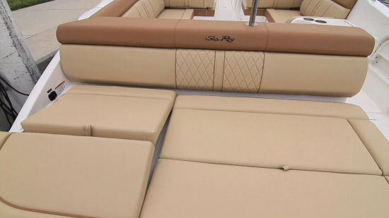 Sea Ray 270 Sundeck OB support